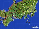 2020年09月12日の東海地方のアメダス(気温)