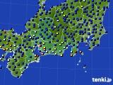 2020年09月13日の東海地方のアメダス(日照時間)