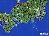 2020年09月16日の東海地方のアメダス(日照時間)