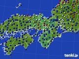近畿地方のアメダス実況(日照時間)(2020年09月16日)