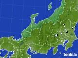 北陸地方のアメダス実況(降水量)(2020年09月19日)