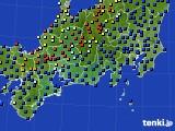 2020年09月23日の東海地方のアメダス(日照時間)