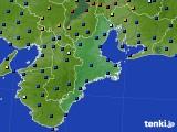 三重県のアメダス実況(日照時間)(2020年09月23日)