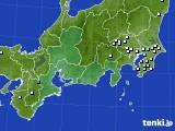 東海地方のアメダス実況(降水量)(2020年09月24日)