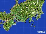 2020年09月24日の東海地方のアメダス(気温)