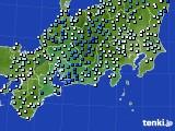 東海地方のアメダス実況(降水量)(2020年09月25日)