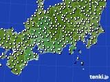 東海地方のアメダス実況(風向・風速)(2020年09月26日)