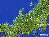 アメダス実況(気温)(2020年09月27日)