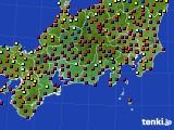 東海地方のアメダス実況(日照時間)(2020年09月28日)