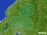 2020年09月28日の岐阜県のアメダス(気温)