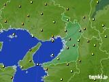 2020年09月29日の大阪府のアメダス(気温)