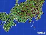 2020年09月30日の東海地方のアメダス(日照時間)
