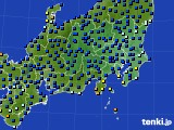 関東・甲信地方のアメダス実況(日照時間)(2020年10月03日)