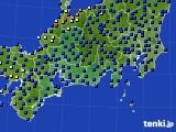 東海地方のアメダス実況(日照時間)(2020年10月10日)