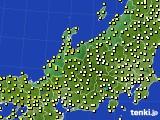 アメダス実況(気温)(2020年10月10日)