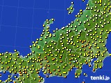 アメダス実況(気温)(2020年10月13日)