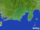 静岡県のアメダス実況(降水量)(2020年10月14日)