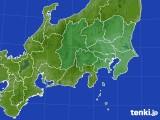 関東・甲信地方のアメダス実況(降水量)(2020年10月20日)