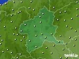 群馬県のアメダス実況(気温)(2020年10月20日)