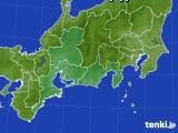 東海地方のアメダス実況(降水量)(2020年10月25日)