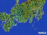 東海地方のアメダス実況(日照時間)(2020年10月28日)