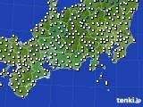 2020年11月04日の東海地方のアメダス(気温)
