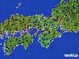 2020年11月06日の近畿地方のアメダス(日照時間)