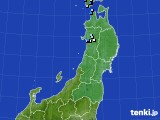 2020年11月13日の東北地方のアメダス(降水量)