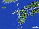 九州地方のアメダス実況(日照時間)(2020年11月26日)