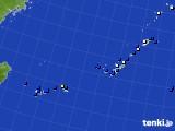 沖縄地方のアメダス実況(風向・風速)(2020年11月29日)