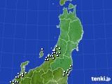 2020年12月05日の東北地方のアメダス(降水量)