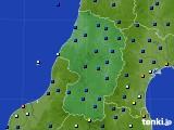 2020年12月17日の山形県のアメダス(日照時間)