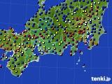 東海地方のアメダス実況(日照時間)(2020年12月30日)
