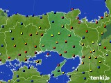2020年12月30日の兵庫県のアメダス(日照時間)
