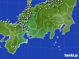 東海地方のアメダス実況(降水量)(2020年12月31日)