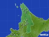 道北のアメダス実況(降水量)(2021年01月01日)