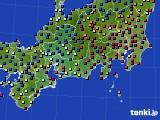 東海地方のアメダス実況(日照時間)(2021年01月01日)