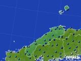 島根県のアメダス実況(気温)(2021年01月01日)