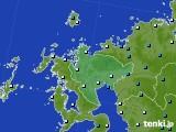 佐賀県のアメダス実況(気温)(2021年01月01日)
