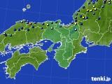 2021年01月04日の近畿地方のアメダス(積雪深)