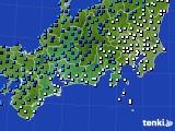 アメダス実況(気温)(2021年01月07日)