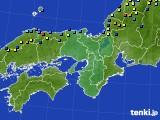 2021年01月08日の近畿地方のアメダス(積雪深)