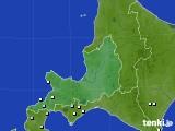 道央のアメダス実況(降水量)(2021年01月17日)