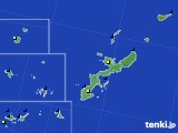 沖縄県のアメダス実況(日照時間)(2021年01月17日)