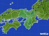 2021年01月27日の近畿地方のアメダス(積雪深)