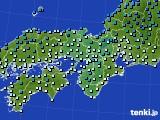 2021年02月03日の近畿地方のアメダス(気温)