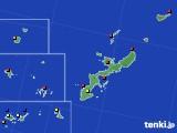 2021年02月08日の沖縄県のアメダス(日照時間)