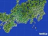 東海地方のアメダス実況(気温)(2021年02月09日)