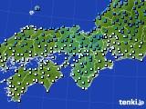 アメダス実況(気温)(2021年02月09日)