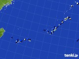 2021年02月09日の沖縄地方のアメダス(風向・風速)